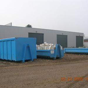 Grondwerken Detrez - Verhuur containers